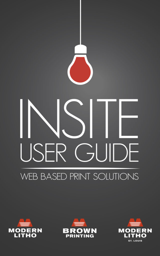 InSite User Guide Front Page