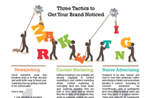 Three Marketing Tactics to Get Your Brand Noticed