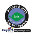 BioRenewable Ink. Modern Litho, Brown Printing and Modern Litho-St. Louis are proud to print their materials with 71% BioRenewable Ink.