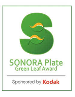 Sonora Green Leaf Award. With its new SONORA Plate Green Leaf Award, Kodak is recognizing customers who have demonstrated outstanding efforts to reduce their environmental impact through a variety of initiatives and best practices. There is an increasing focus on environmental issues in the commercial printing industry and customers are demanding products that reduce their environmental footprint. The award is named for KODAK SONORA Process Free Plates, known for yielding dramatic environmental and economic benefits for customers without sacrificing quality and output. SONORA Plates remove the need for the plate processor, which requires chemicals, water and energy while generating waste