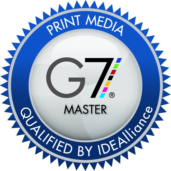 G7 Master Qualification. Modern Litho and Modern Litho-St. Louis have attained G7© Master Qualification. G7© Master status is granted to facilities that are qualified to use the G7© Proof-to-Print Process and that use the most modern technology, techniques, and press controls to produce a close visual match from proof to print