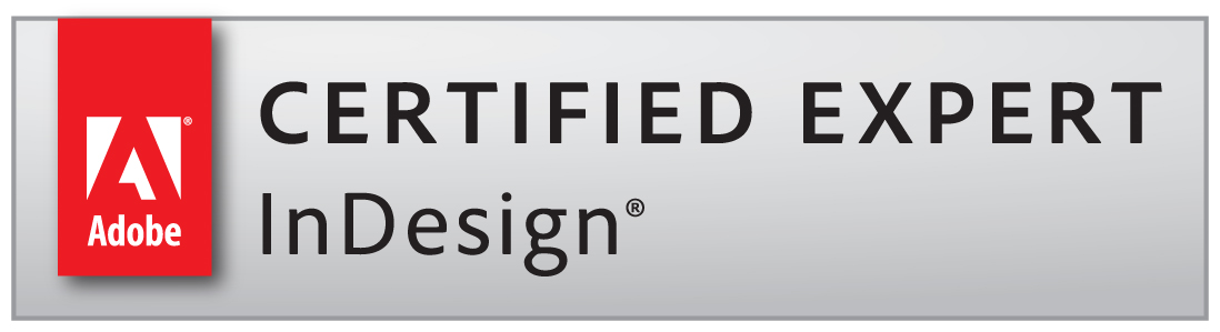 Adobe Certified Expert®. Modern Litho employs two of the only three Adobe InDesign Certified Experts® in the state of Missouri. The Adobe InDesign Certified Expert is recognized by Adobe® as being an industry asset for its layout software. Call us and let our team's proficiency in Adobe InDesign benefit for your next project