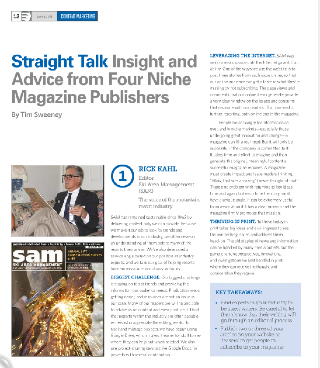 Magazine printing insight and advice