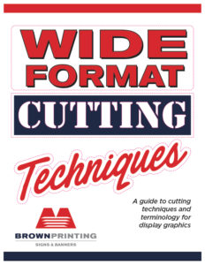 Wide Format Cutting Techniques