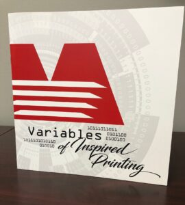 variable data print booklet