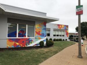 St. Louis building graphics